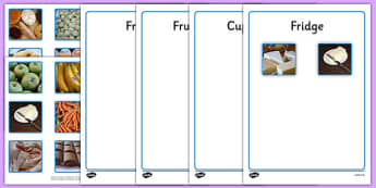 Food Sorting Photo Activity - food, sorting, photo, activity, photo activity, food sorting, sorting activity, sort