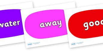 Next 200 Common Words on Speech Bubbles (Multicolour) - Next 200 Common Words on  - DfES Letters and Sounds, Letters and Sounds, Letters and sounds words, Common words, 200 common words
