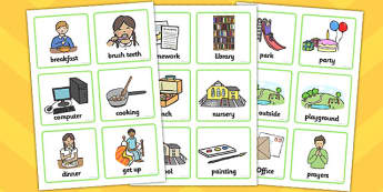 KS1 Visual Timetable - Visual Timetable, education, home school, child development, children activities, free, kids, special needs, special education, speech and language
