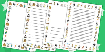 Page Borders to Support Teaching on The Great Pet Sale - pets, animals, page border, pet