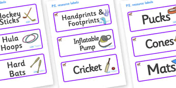 Pony Themed Editable PE Resource Labels - Themed PE label, PE equipment, PE, physical education, PE cupboard, PE, physical development, quoits, cones, bats, balls, Resource Label, Editable Labels, KS1 Labels, Foundation Labels, Foundation Stage Label