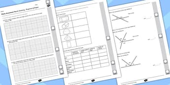 Year 6 Maths Assessment: Geometry Term 1 - Shape - maths, assessment, shape
