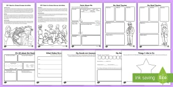 Year 1 First Week Back Activity Pack - back to school, PSHCE, likes and dislikes, all about me, new school year