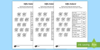 Place Value Number Clues Homework Activity Sheets - year 2, maths, place value, number, reasoning, homework, Worksheets