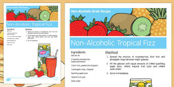 Pancake Day Non Alcoholic Drink Recipe - Elderly, Reminiscence, Care Homes, Pancake Day