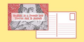 Reward Postcard Shakespeare Puzzle - reward, postcard, shakespeare, puzzle, reward postcard, praise