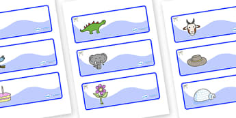 Husky Themed Editable Drawer-Peg-Name Labels - Themed Classroom Label Templates, Resource Labels, Name Labels, Editable Labels, Drawer Labels, Coat Peg Labels, Peg Label, KS1 Labels, Foundation Labels, Foundation Stage Labels, Teaching Labels