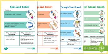 Catching Skills Cricket Activity Pack  - PE Curriculum, KS2, summer, core skills