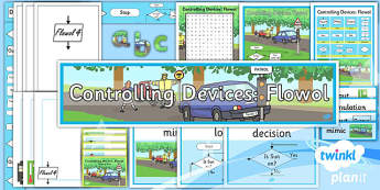 Computing: Controlling Devices Flowol Year 5 Unit Additional Resources