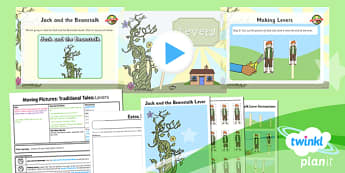 D&T: Moving Pictures: Traditional Tales: Levers KS1 Lesson 3