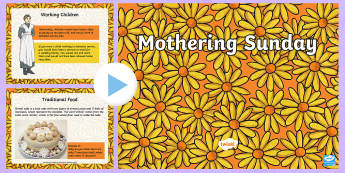 Mothering Sunday Information PowerPoint - KS1 & KS2 Mother's Day UK (26.3.17), Mothering Sunday, information PowerPoint, mothers, women, dome