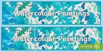 Abstract Art Display Banner - Abstract Art Display Banner - artist, atrist, header, display, abnner, banner, display banner, water
