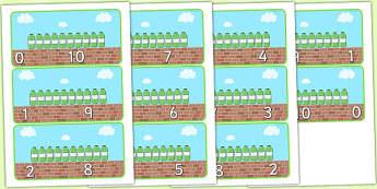 10 Green Bottles Number Bonds To 10 - 10 green bottles, number bonds to 10, themed number bonds, 10 green bottles number bonds