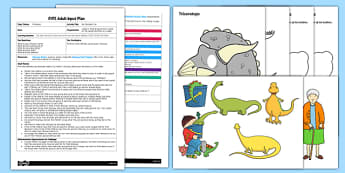 EYFS My Dinosaur Can Adult Input Plan and Resource Pack