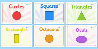 Editable Class Group Signs (2D Shapes) - 2D shapes, group signs, group labels, group table signs, table sign, teaching groups, class group, class groups, table label