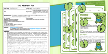 Phonic Frog Game EYFS Adult Input Plan and Resource Pack - pack