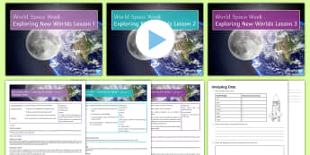 World Space Week 4th - 10th October 2017: Making Rockets Lesson Pack - world, space, week, 3 lessons, rockets, water, testing, designing