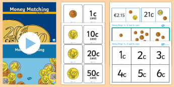 KS1 Money Games Euros Resource Pack - Money Games KS1 - ks1 money games, money, games, maths games,