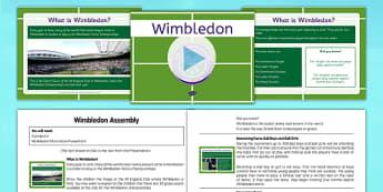 Wimbledon Assembly Pack - Wimbledon, Assembly, Tennis, pack, assembly pack