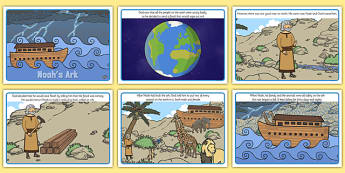 Noah's Ark Story Sequencing - noahs ark, story, sequencing, noah's ark, sequence, christianity