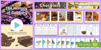 KS2 Chocolate Week Resource Pack - day, making, history, making, Ks2