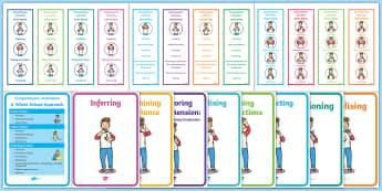 Comprehension Instruction Resource Pack - new, language, curriculum, primary, reading, comprehension,Irish