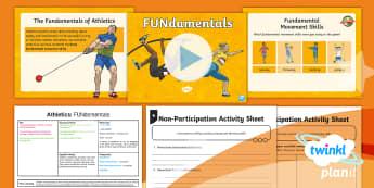 PE: Athletics: FUNdamentals Year 5 Lesson Pack 1