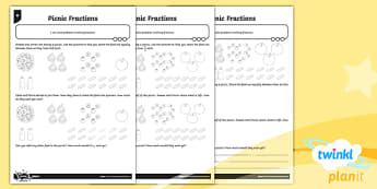 PlanIt Y3 Fractions Solve Problems Involving Fractions Home Learning - Fractions, homework, fraction of a set of objects, fraction of a set, fractions of groups, fraction of a number, fraction of a quantity, problem solving, sharing