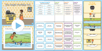 The Magic Porridge Pot with Blanks Level Question Cards - language for thinking, inference, prediction, asking, answering