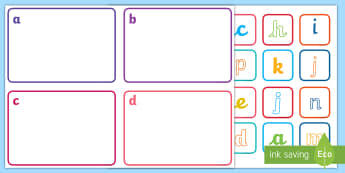 Alphabet Sorting Activity - Alphabet Sorting Activity - letters, sorting, leters, lettes, alphabet, a-z, sorting activity, lette