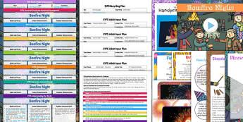 EYFS Bonfire Night Bumper Planning Pack - eyfs, bonfire night, bumper, planning, pack