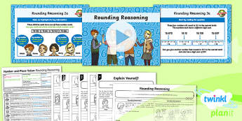 PlanIt Year Y6 Number and Place Value Lesson Pack Rounding Numbers (3)