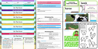 EYFS Farm Themed Bumper Planning Pack - eyfs, farm, bumper, plan