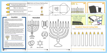 Top Ten KS1  Hanukkah  Activity Pack-Australia - Hanukkah, Jew, Judaism, celebration, light, festival,Australia