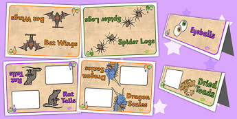 Potion Table Group Signs - potion, group signs, table signs, sign