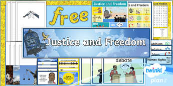PlanIt - RE Year 6 - Justice and Freedom Additional Resources