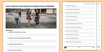 General Conversation Global Issues Question List