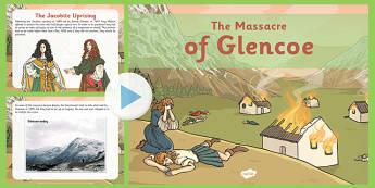 The Massacre of Glencoe PowerPoint - massacre, glencoe, powerpoint
