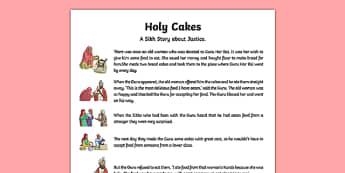 Holy Cakes Story
