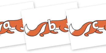 Phase 2 Phonemes on Hullabaloo Fox to Support Teaching on Farmyard Hullabaloo - Phonemes, phoneme, Phase 2, Phase two, Foundation, Literacy, Letters and Sounds, DfES, display