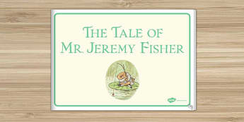 Beatrix Potter - The Tale of Mr Jeremy Fisher eBook - beatrix potter, mr jeremy fisher