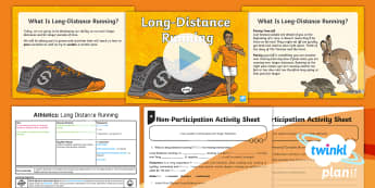 PE: Athletics: Long Distance Running Year 5 Lesson Pack 3