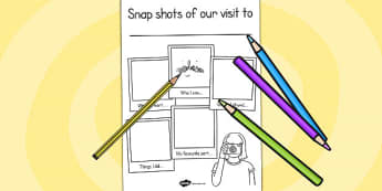 Our Visit to Snapshot Writing Frame - snapshot, writing frame
