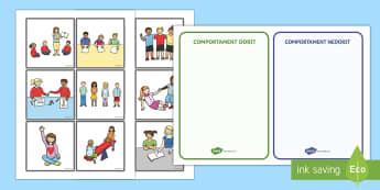 Comportamentul în clasă Cartonașe - management comportamental, școală, dezvoltare personală, activități, jocuri, revenirea la școa