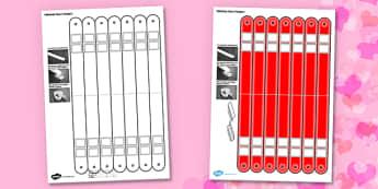 3D Valentine Heart Hangers Printable Craft Display - 3d, valentine, heart, valentines day, heart hangers, hangers, display, craft