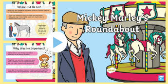 Mickey Marley's Roundabout PowerPoint - Mickey Marley - Northern Ireland, roundabout, powerpoint, horse, mickey, belfast, famous