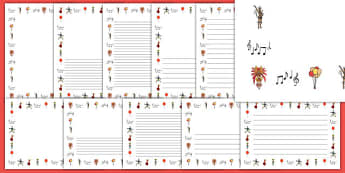 Carnival Themed Page Borders - celebration, festival, writing aid