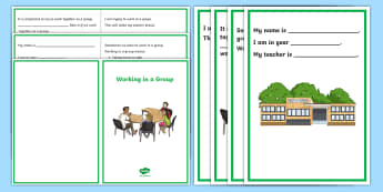 Working in a Group Social Situation - social stories, Working Together, autism, blurting, social skills, taking turns, sharing, listening, teamwork