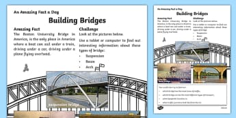 Building Bridges Activity Sheet, worksheet