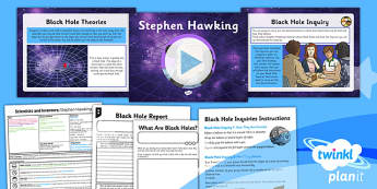Science: Scientists and Inventors: Stephen Hawking Year 6 Lesson Pack 1